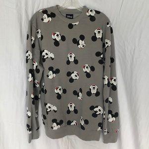 Disney Mickey Face Sweatshirt